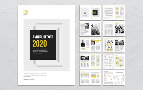 2020公司年度报告手册