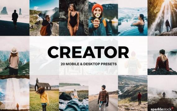 20个Creator Lightroom预设和LUT