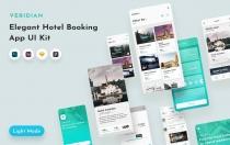Veridian UI套件图片展示app设计模板