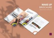化妆-宣传册模板