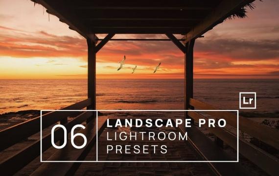 6个Landscape Pro Lightroom预设