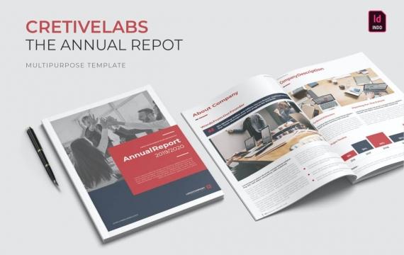 创意实验室| 年度报告宣传手册