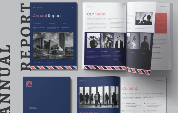 2021年度报告手册模板