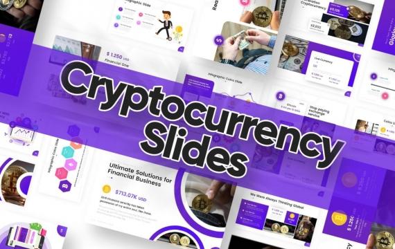 加密货币幻灯片PowerPoint模板