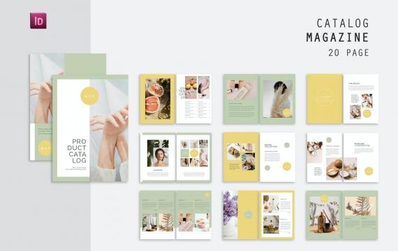 产品目录杂志模板