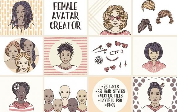 女头像创作者