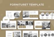 Furnituret-主题演讲家具keynote模板下载