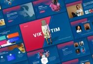 Viktim-创意代理商主题演讲keynote模板下载