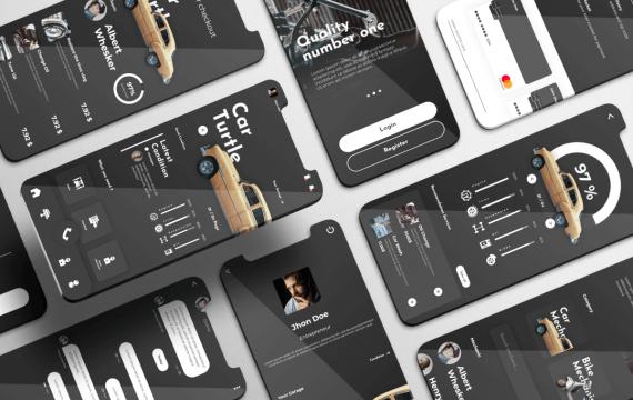 Cartronik UI套件-车辆服务应用app模板
