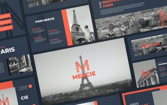 Mercie-商务项目合作工作计划总结业务合作多用途keynote模板