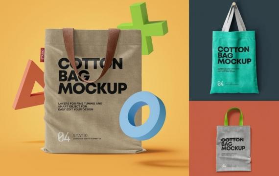 棉布袋模型:固定式包装袋样机