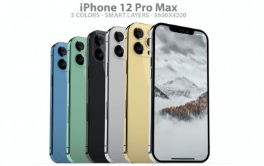 iPhone 12 Pro Max PSD样机