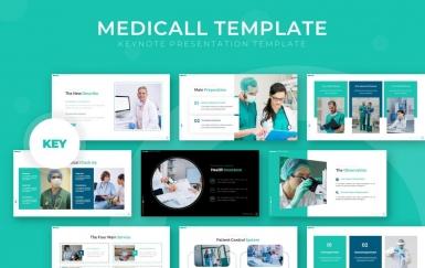 Medicall-主题演讲医疗keynote模板下载
