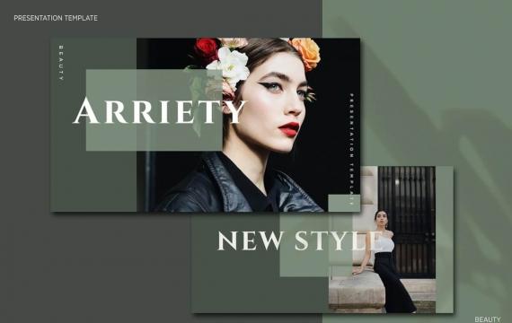Arriety-主题演讲高贵keynote模板