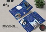 业务宣传册三折页设计模板