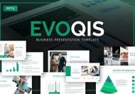 Evoqis业务合作企业团队介绍PowerPoint模板