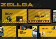 塞尔巴黄色PowerPoint模板