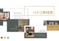 Hedrier家居产品展示PowerPoint模板