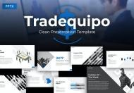 Tradequipo业务销售总结PowerPoint模板