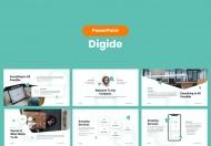 Digide-商务团队简介PowerPoint模板