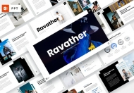 Ravather-男士时尚PowerPoint模板