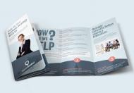 高端大气企业公司介绍三折页模板