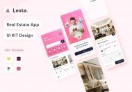 Lesta-房地产UI套件界面模板免费下载
