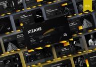 Xizane-欧美黑色高端公司介绍产品宣传商业Google幻灯片模板