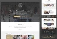 Unisco-教育性响应式教育HTML5网站模板