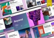 Beyond-简约质感商务商业计划书Google幻灯片模板