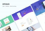 Emaus-企业服务营销自适应网站html模板