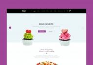 riga-糖果和甜点商城HTML前端模板