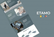 Etamo-商务公司介绍企业介绍公司宣传ppt模板