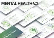 心理健康V.2-PowerPoint信息图表幻灯片