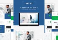 Aklas-商业创意品牌商务公司网站HTML前端模板