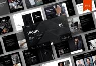Hidan-欧美黑色高端公司介绍产品宣传PPT模板