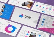 NextCourse-教育服务行业项目介绍产品介绍PPT模板