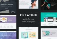 Creatink-多用途概念商业网站HTML5前端模板