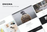 Enigma-创造性响应式工作室网站HTML模板