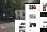 Cizarua-现代简约的多用途Bootstrap网站html模板