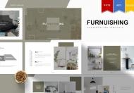Furnuishing-简约家居建材家具装修设计PPT模板