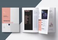 商业公司简介宣传画册设计模板