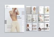企业产品画册服装产品高端简约宣传册