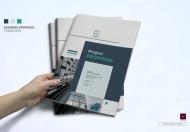 商务企业宣传项目简介手册设计模板