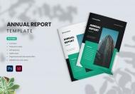 简约大气商务年度报告宣传画册模板