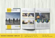 简洁大气商务企业宣传画册模板