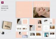 方形Lookbook-时尚杂志模板