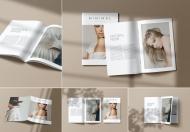简约大气时尚高端企业画册杂志封面排版