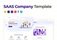 SAAS-公司网站UI界面设计UI设计模板