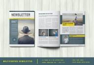 多用途杂志排版版式设计模板